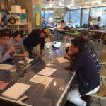 小倉ヒラクさんのお誘いで、アレクサンドラ教授との渋谷でのフィールドワークに参加。